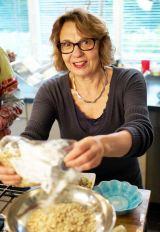 Clara in de keuken